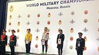 Lais Nunes é prata no mundial militar de Wrestling na Rússia
