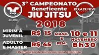 Campeonato Beneficente de Jiu Jitsu da Igreja Bola de neve Arujá